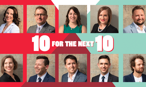 Biz 417's 10 for the Next 10 2018
