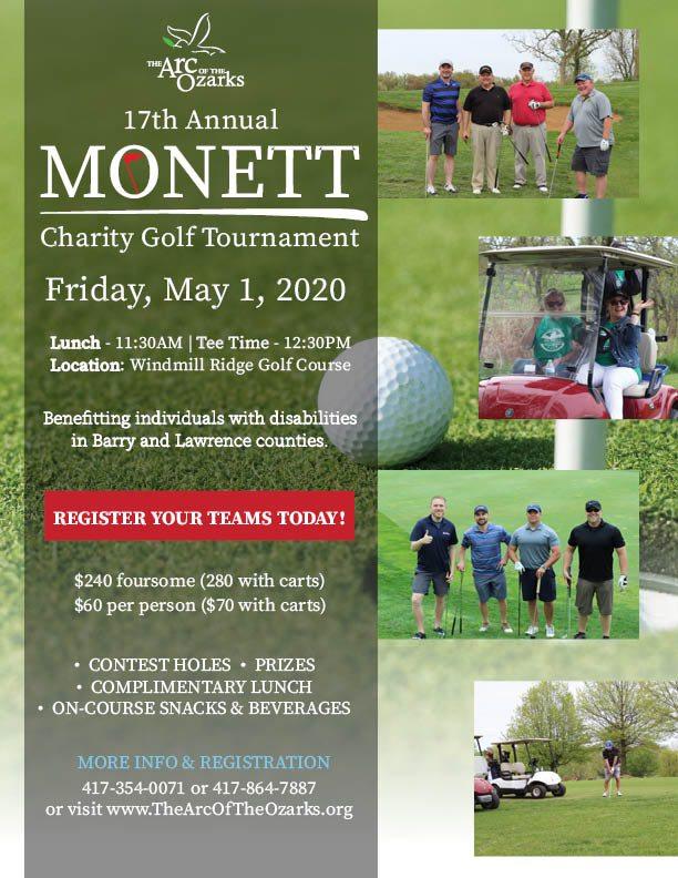 Golf fundraiser in Springfield, MO
