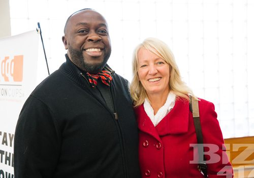 See pictures from One Million Cups Christmas Party