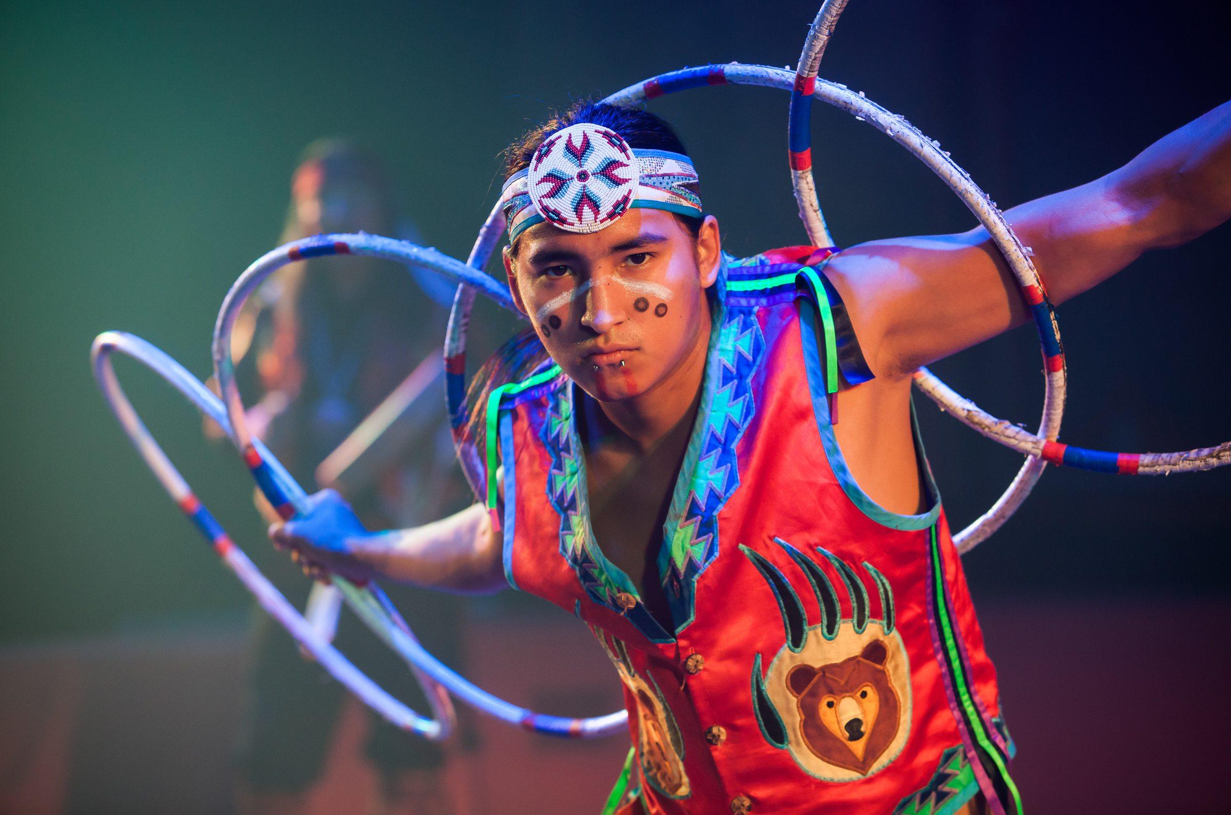national crafts and cowboy festival hula hoop
