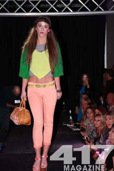 Runway Model at Fashionation 2012