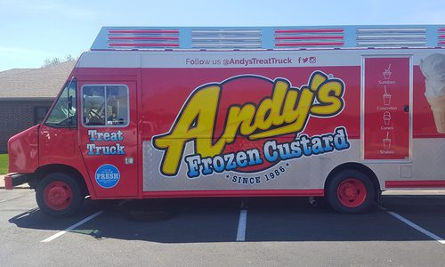 Andy's Frozen Custard Treat Truck