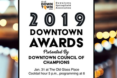downtown springfield awards