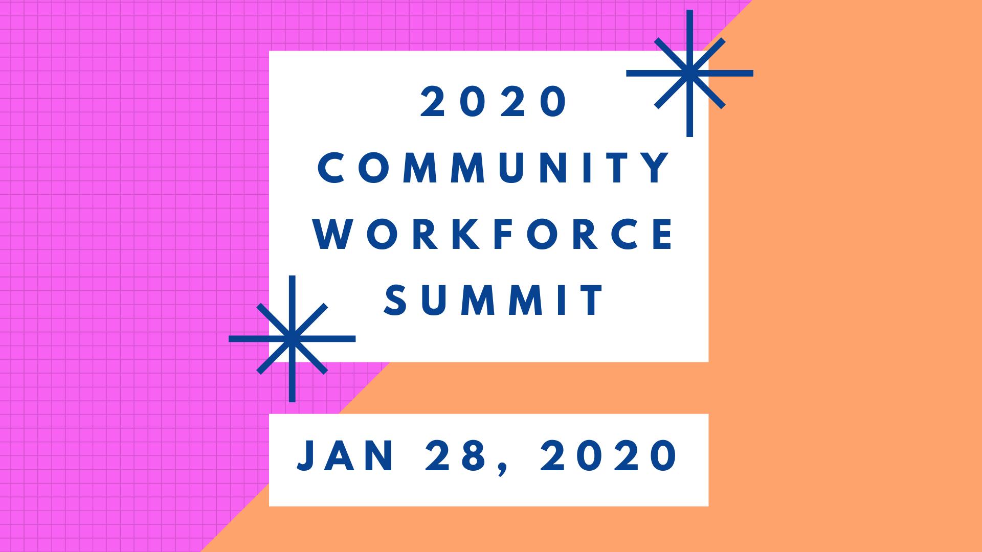 2020 Community Workforce Summit logo