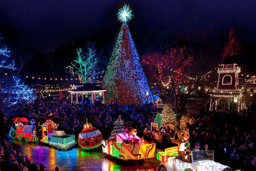 Silver Dollar City Christmas Parade, Branson MO