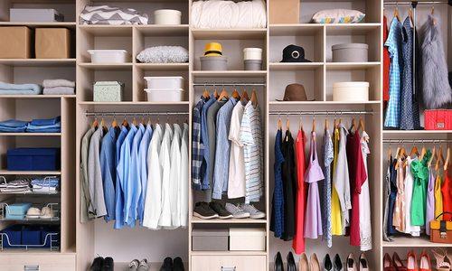 Organized closet solution