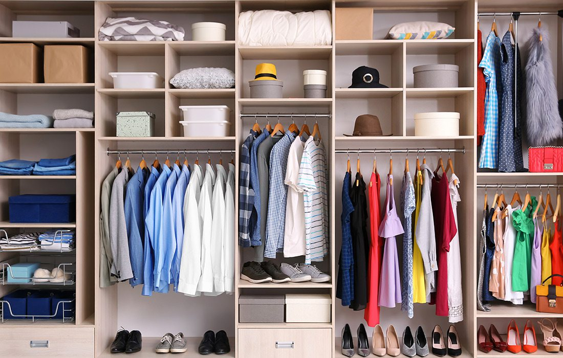 Organized closet solution