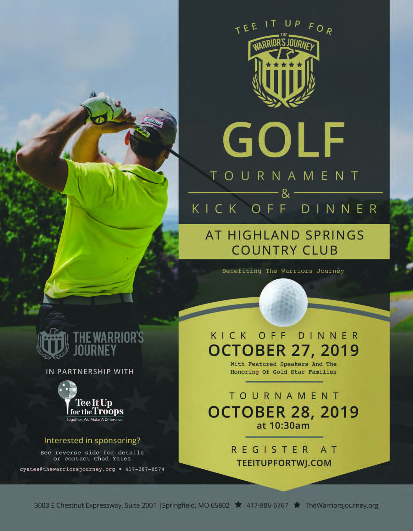 Highland Springs Country Club Golf Tournament