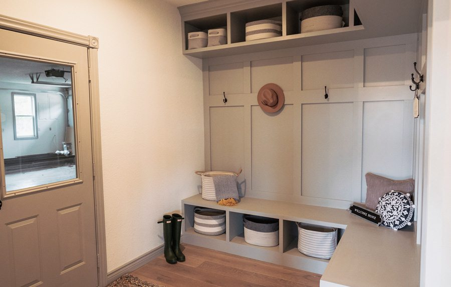 Table Rock Lake Home Giveaway mudroom