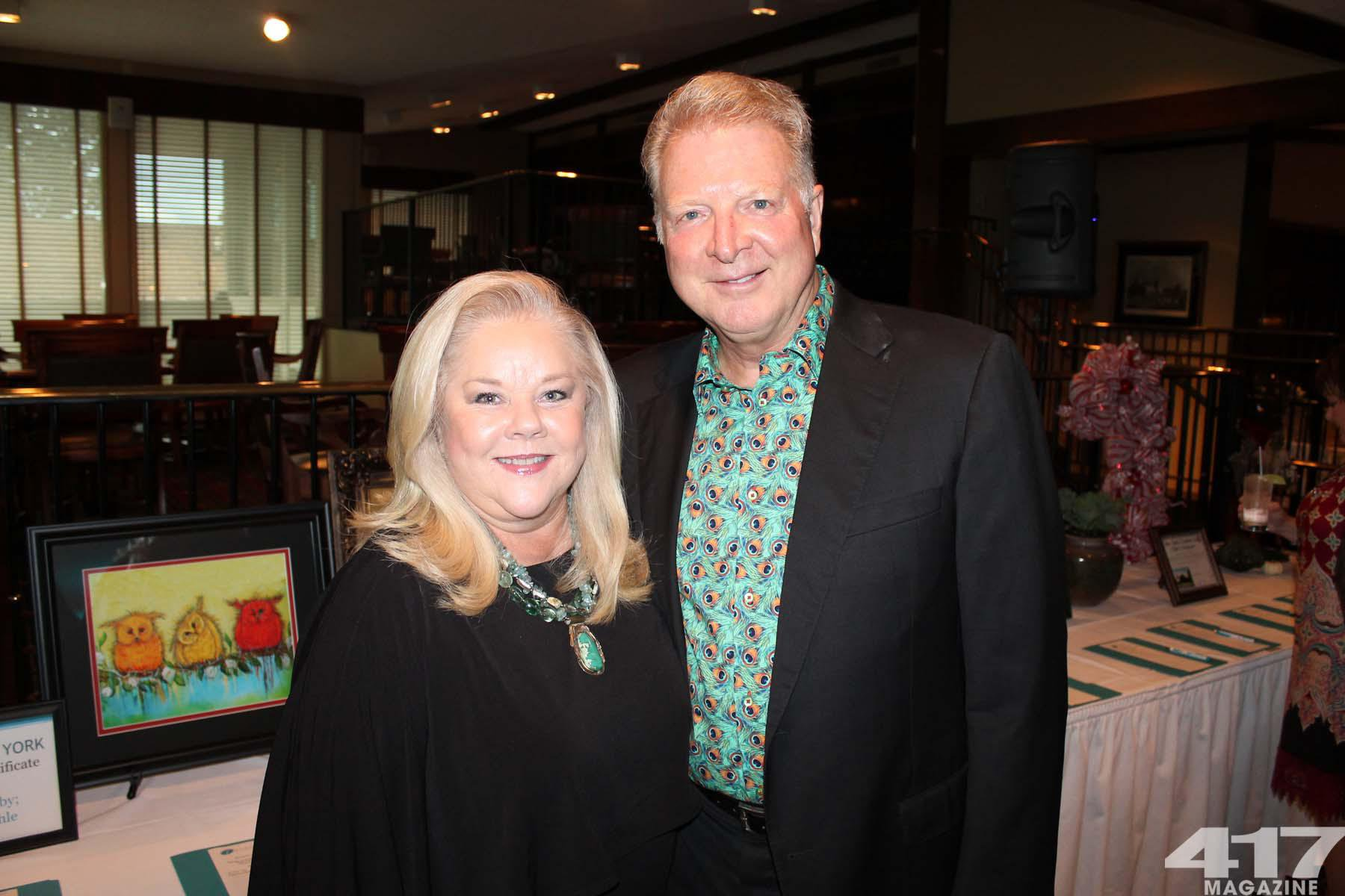 Joan & Gary Whitaker at Teal to Heal in Springfield, MO