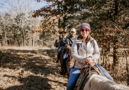 Horseback riding and winery trip on Valentines Day
