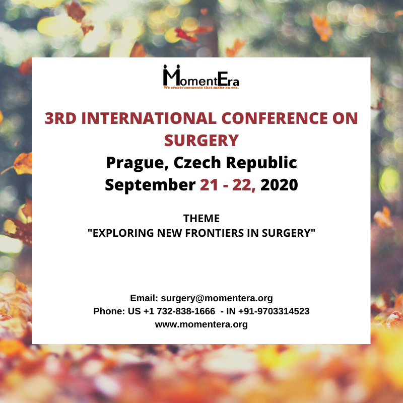3rd annual international conference on surgery