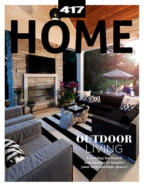 417 Home Spring 2021 Cover | Outdoor Spaces
