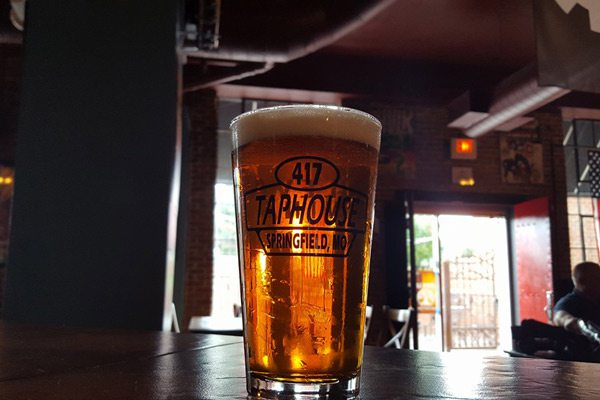 Full glass at 417 Taphouse