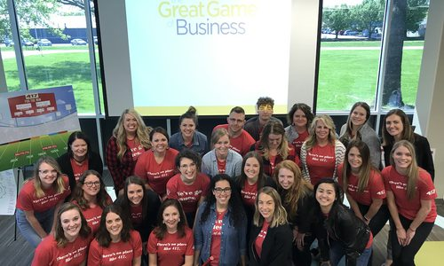 417 Magazine team at Great Game of Business talk