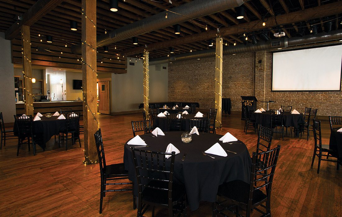Event space at 425 Downtown in Springfield MO