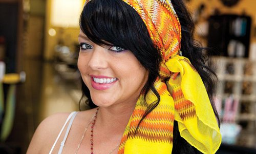 4 Ways to Style a Headscarf