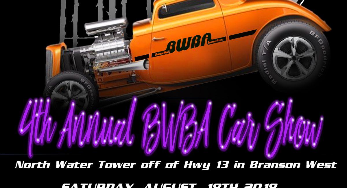 Th Annual BWBA Car Show - Car show branson mo