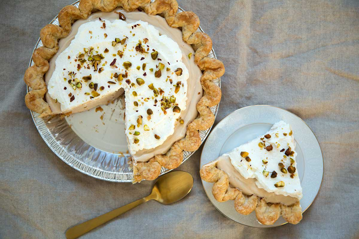 Prairie Pie Earl Grey Cream Pie