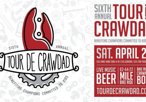 6th Annual Tour De Crawdad - Benefiting Champions Committed to Kids