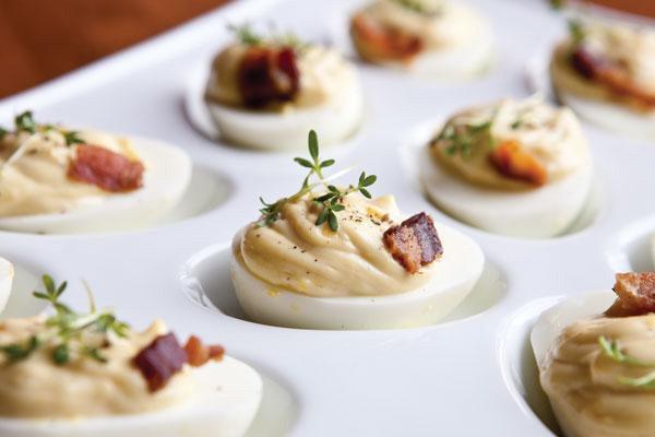 Chef Johnson's Deviled Eggs