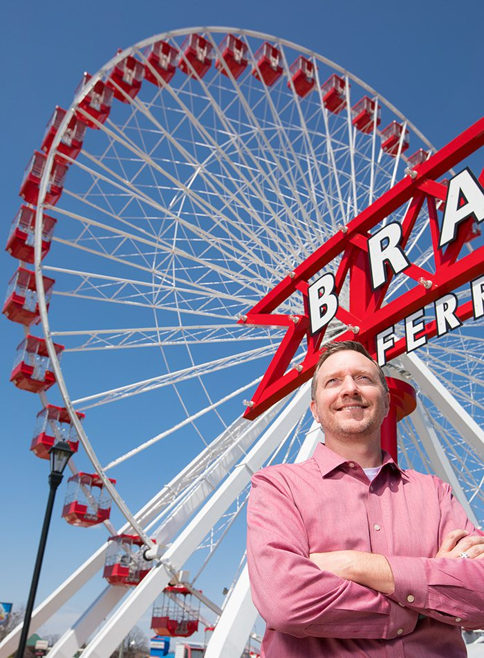Craig Wescott, CEO and Co-owner of The Track Family Fun Parks in Branson Missouri