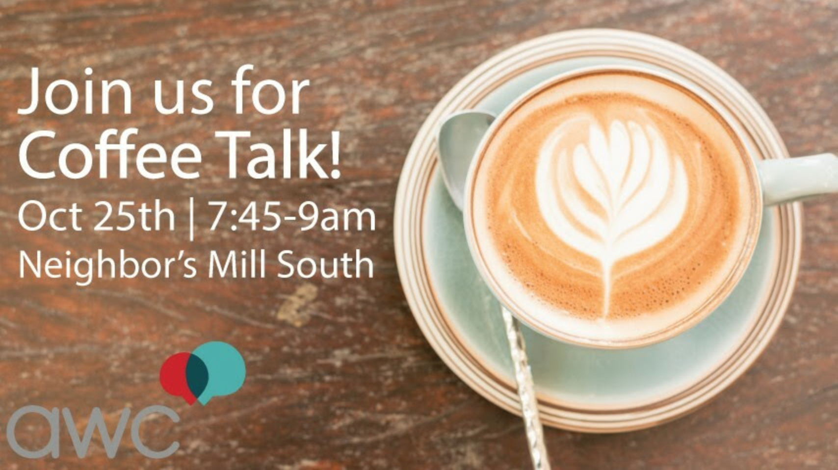October Coffee Talk in Springfield, MO