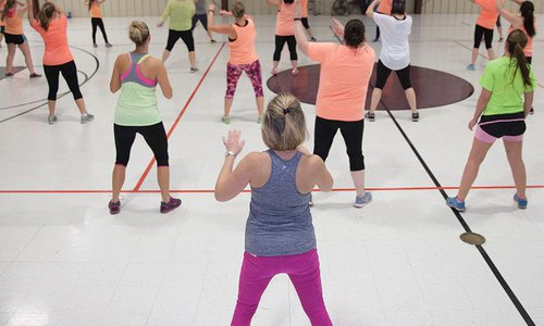 A Class with the Zumba Crew