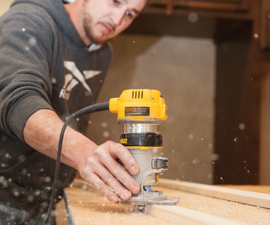 A Day with a Trim Carpenter