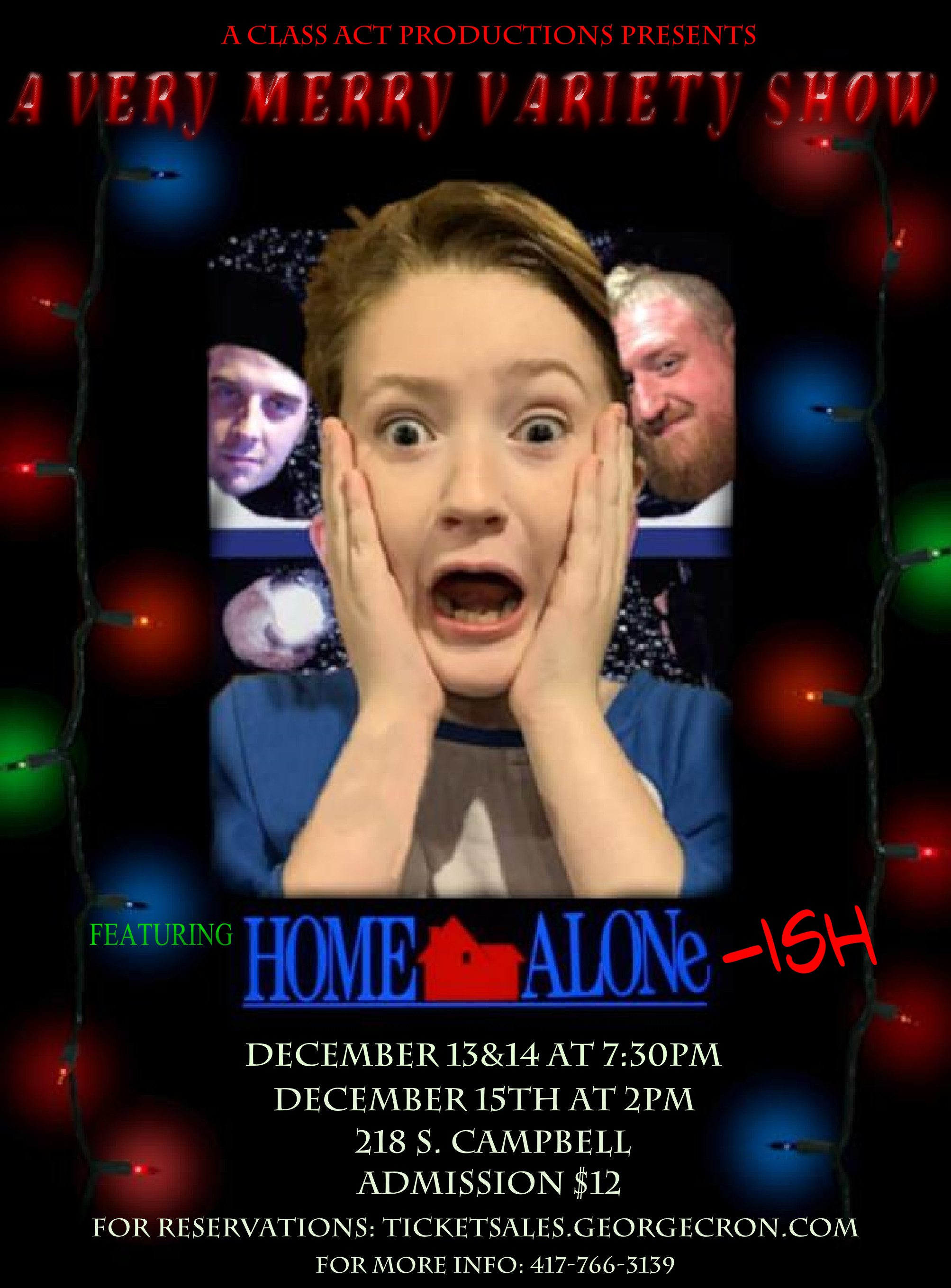 Home Alone inspired Christmas show in Springfield, MO