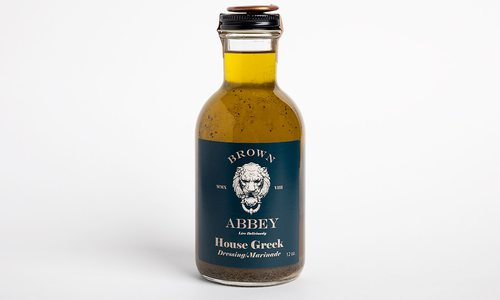 Brown Abbey House Greek Dressing and Marinade