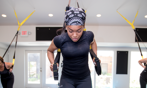 Acacia Spa's TRX Workout