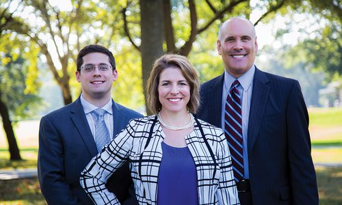 Samuel M. Ackerman, CRPC®, Associate Financial Advisor; Paula Dougherty, CFP®, Private Wealth Advisor; Scott Taylor, CRPC®, Financial Advisor