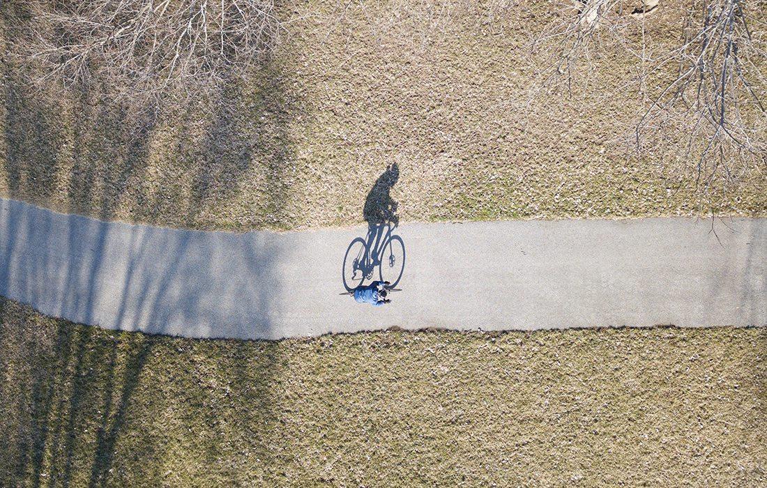 Adam Benton Bikes from Kansas City to Springfield, MO