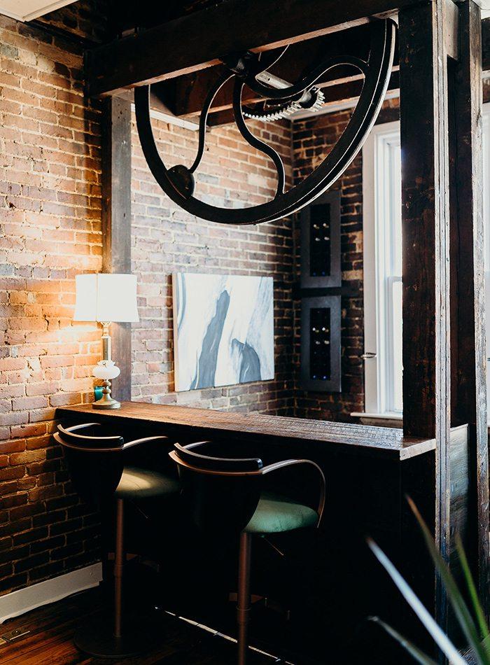 Refine Studio's Airbnb Bar