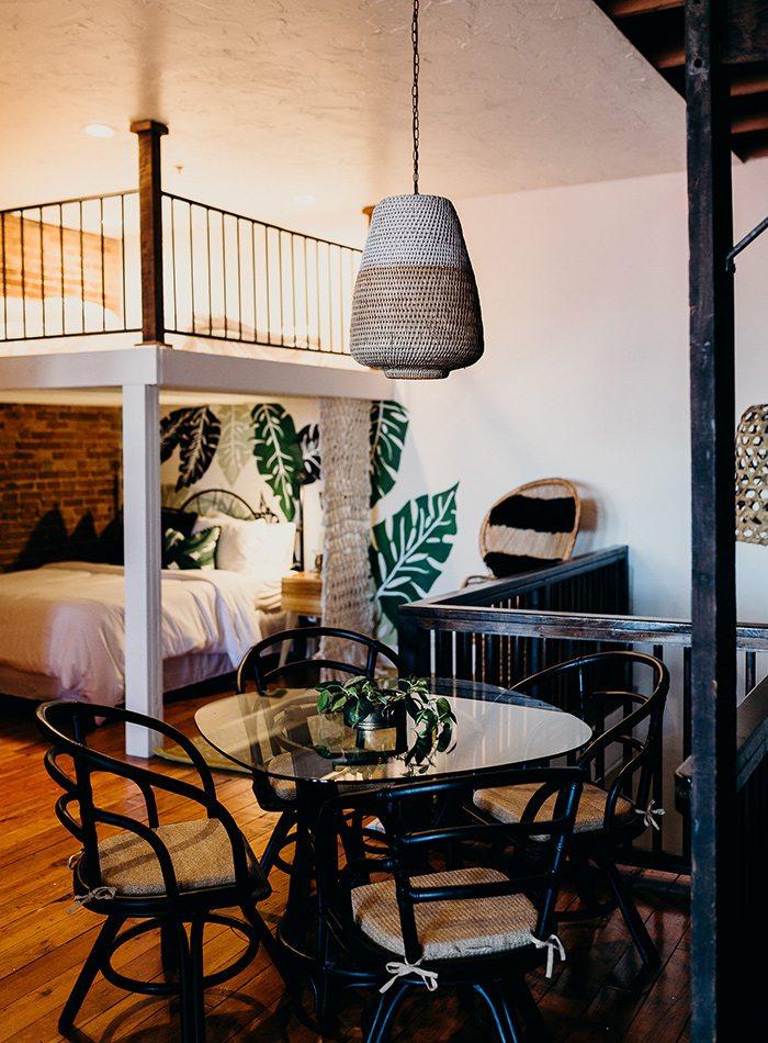 Refine Studio's Airbnb Dining Nook