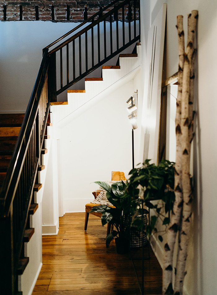 Refine Studio's Airbnb Entry Hall