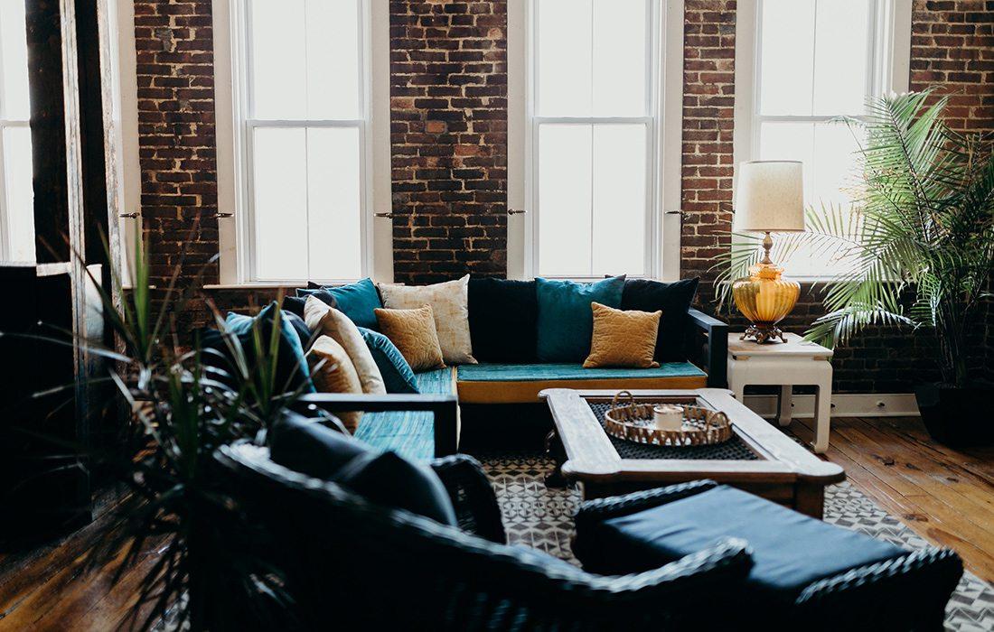 Refine Studio's Airbnb Living Room