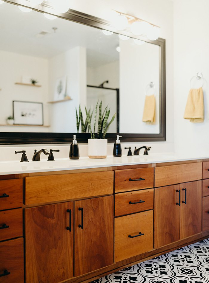 Refine Studio's Airbnb Master Bath