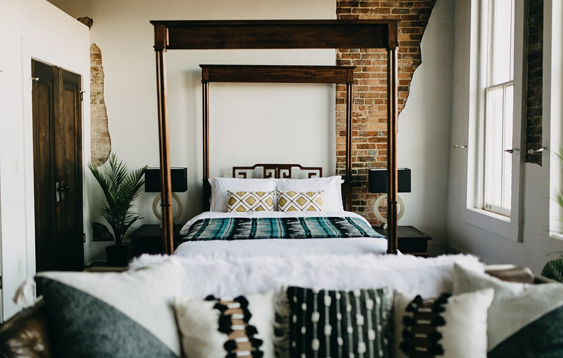Airbnb loft above Refine Studios on historic Commercial Street Springfield MO