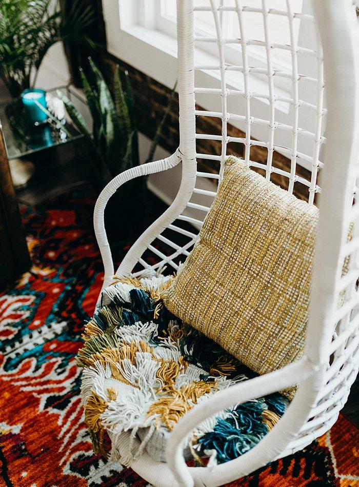 Refine Studio's Airbnb Master Bedroom Sitting Area
