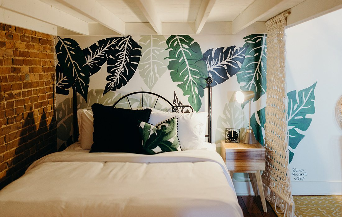 Refine Studio's Airbnb Sleeping Space
