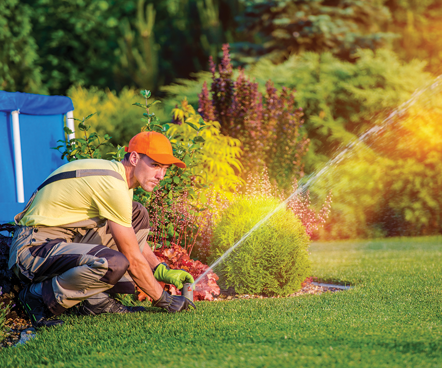 All about irrigation and sprinkler systems.