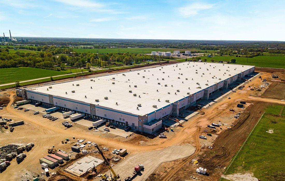 Amazon building in Republic, MO