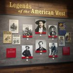 Slider Thumbnail: Legends of the American West display