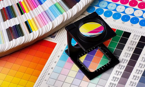 Printing Press color management