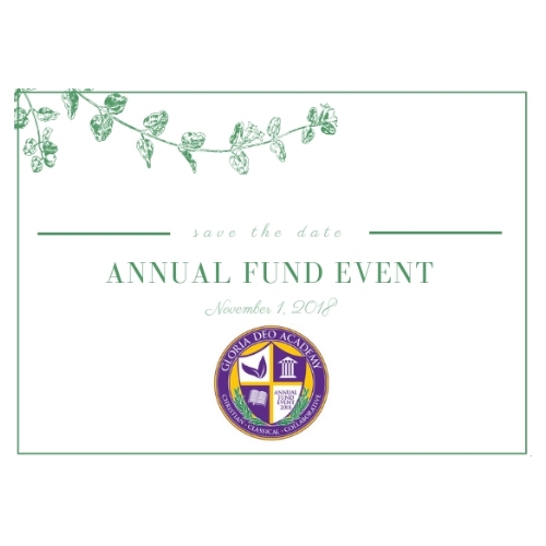 Save the date for the Annual Fund Event