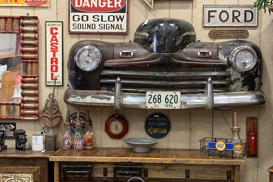 Antiques at the Antique Festival of the Ozarks