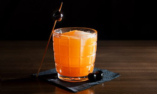 The Fresh Squeezed Aperol cocktail from Progress