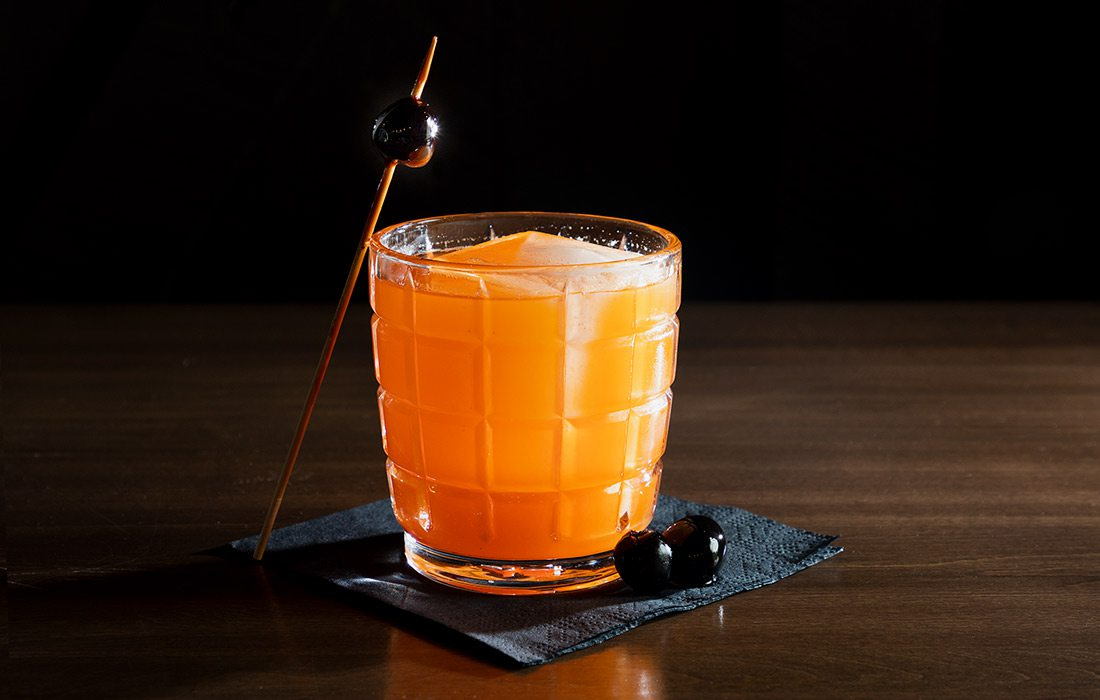 The Fresh Squeezed Aperol cocktail from Progress.